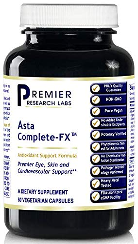 Asta-Complete-FX (2 Bottles - 120 Vcaps) by Premier Research Labs Antioxidant Astaxanthin by Premier Research Labs
