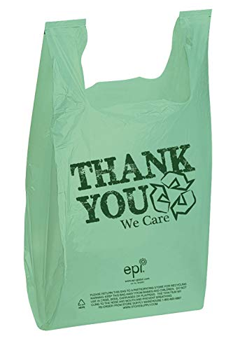 - Thank You Bags (EPI Plastic T-Shirt Bags) - Case of 500