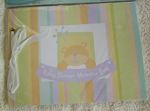 [해외]Baby Shower Memory Book (1 count) / Baby Shower Memory Book (1 count)