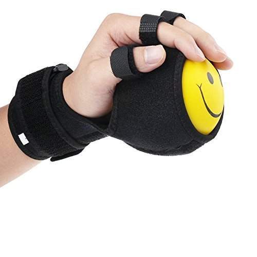 Finger Board Finger Device Training Equipment Anti-Spasticity Ball Splint Hand Functional Impairment Finger Orthosis Hand Ball Rehabilitation Exercise Fingers Hemiplegia
