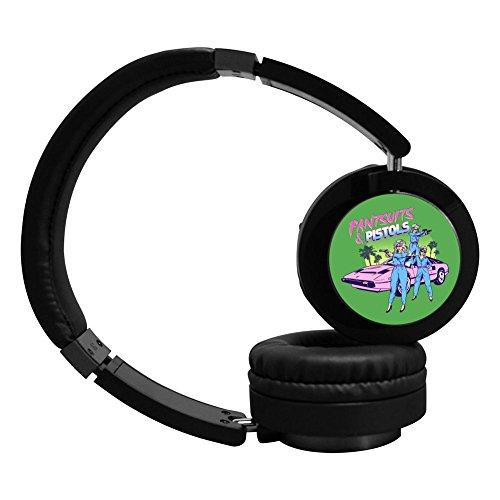 MagicQ New Pistols Pirates Ladies Bluetooth Headphones,Hi-Fi Stereo Earphones Headset.