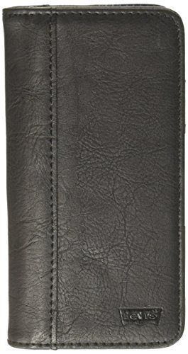 Levi's Men's Magnetic 2 in 1 Iphone 6/6S Wallet Case, black, One - Mobile Phone Levis