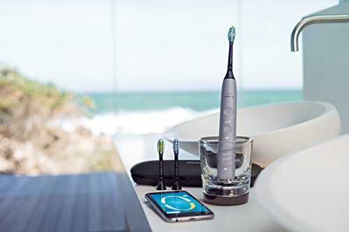 Philips Sonicare Diamondclean Smart-9300 Series Sonic Electric Toothbrush with Bluetooth & App - Grey, 1.22 Pound by Philips Sonicare (Image #6)