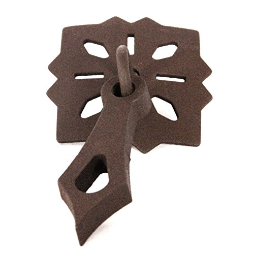 Acorn Cabinet Pull (MP6NP Russet Iron Finish Snowflake Cabinet Drop Pull Knobs from Acorn Hardware)