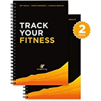 Workout Log Book & Fitness Journal/Planner - Designed by...