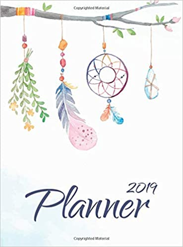 2019 Planner Daily Weekly And Monthly Calendar Planner With Holiday