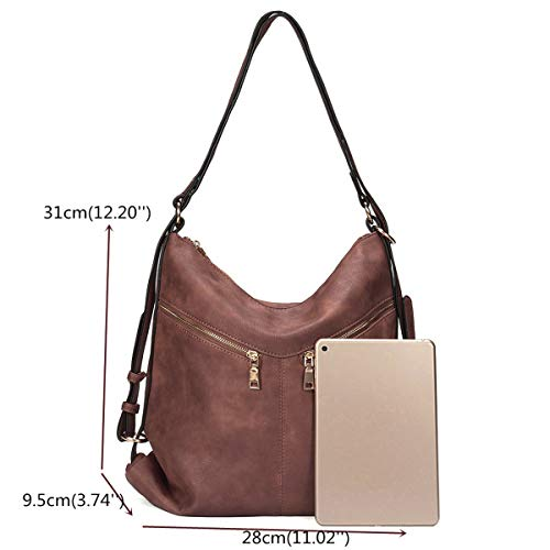 Backpack Bag Solid Women Brenice Red Shoulder Handbag Capacity Large Coffe Multifunctional Wine Casual wxAwUtg