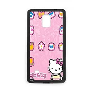 Hello Kitty Samsung Galaxy Note 4 Cell Phone Case Black Phone cover G2688414
