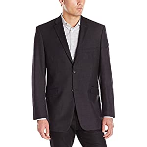 Adolfo Men's Wool and Cashmere Modern Fit Suit Jacket