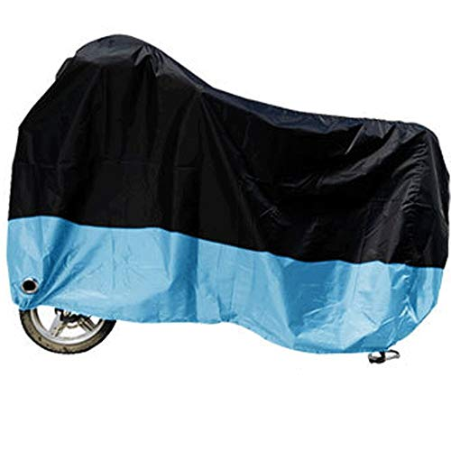 - ZZKJTANGYMTT Motorcycle Covers for Outside Storage, Electric Car Cover, Scooter Clothing, Rainproof, Sunscreen, Dustproof, Sunshade,A-XXXXL