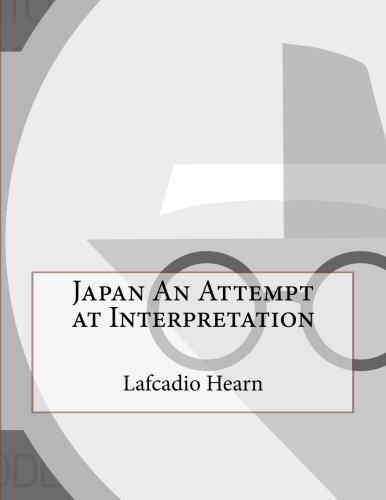 Download Japan An Attempt at Interpretation PDF