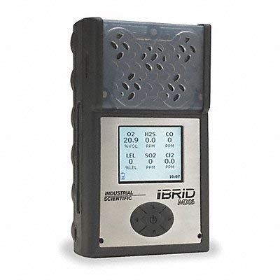 Multi-Gas Detector 4 Gas -4 to 131F LCD by Industrial Scientific