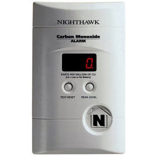 Kidde KN-COEG-3 Nighthawk Plug-In Carbon Monoxide and Explosive Gas Alarm with Battery Backup - Carbon Monoxide Detector Natural Gas