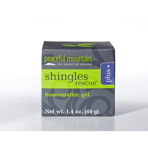 Peaceful Mountain Shingles Rescue Homeopathic Gel 1.4 oz. (Pack of 2)