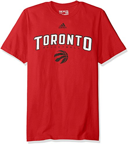 fan products of NBA Toronto Raptors Men's Miracle Short Sleeve Go-To Tee, XX-Large, Red