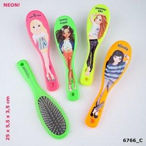Top Model Depesche de pelo con diseño de cepillo de dientes con el nombre de Celine: Amazon.es: Hogar