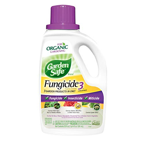 Garden Safe 510992 Fungicide3 Concentrate (HG-10411X) (20 fl oz) (Bayer Advanced Fruit Citrus Vegetable Insect Control Reviews)