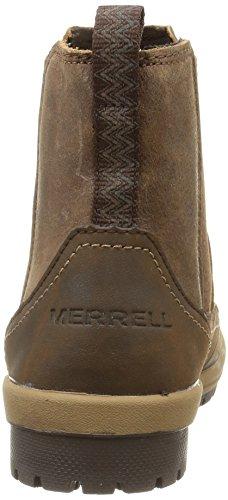 Merrell Emery Ankle Donna Antiscivolo Manica Corta Marrone (marrone)