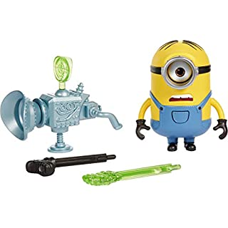 Mattel Minions: The Rise of Gru Loud N' Rowdy Stuart Talking Action Figure with Fart Cannon Toy, Kids Gift Ages 4 Years & Older