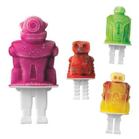 Tovolo Robot Pop Molds Set
