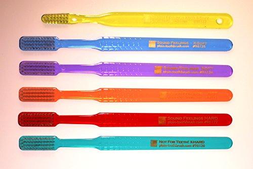 (Sound Feelings Toothbrush - Basic, Sampler 6-Pack)