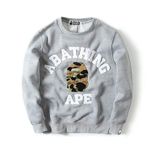 Baseballl M2t Pullover Black Embroidery Fashion Outdoor Sweatshirt Coat Zipper gray Green oerdCxBWQE