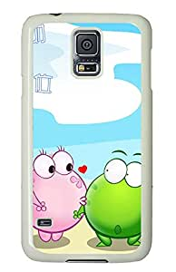 Samsung Galaxy S5 Cases & Covers - Distance Between Two Hearts PC Custom Soft Case Cover Protector for Samsung Galaxy S5 - White