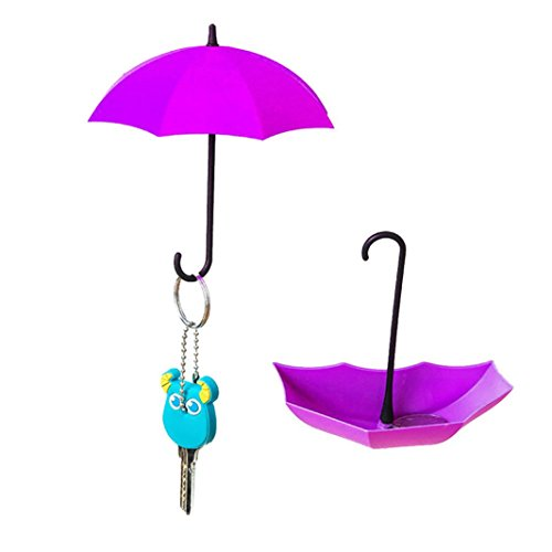 Sujing Wall Hanging Hooks Key Hangers Umbrella Shape Wall Ho