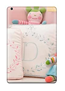 Defender Case With Nice Appearance (pink Girl8217s Nursery Personalized Pillows) For Ipad Mini/mini 2