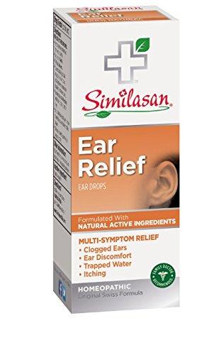 Similasan Ear Relief Ear Drops, 0.33 Ounce Bottle Pack of 12