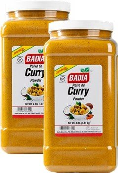 Badia Curry Powder 4 lbs Pack of 2 by Badia