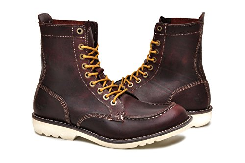 Nuevo Lanzamiento Finishline En Venta Timberland 84557 MT Escape EK Red Burnt Leather Boots US7.5 Gran Venta lHr0i