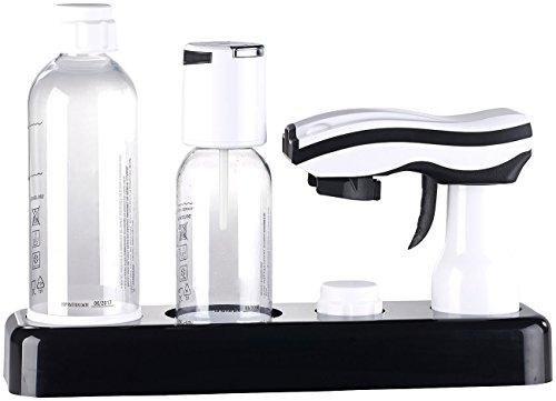 Rosenstein & Söhne Getränke-Sprudler für Soda-Wasser, Softdrinks, Saft-Schorle, Limonade