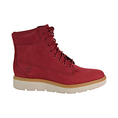 (Timberland Women'S Limited Release Ruby RED Kenniston 6-inch Lace-up Boots (8))