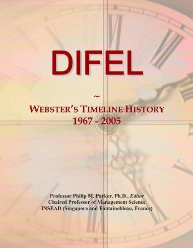 DIFEL: Webster's Timeline History, 1967 - 2005