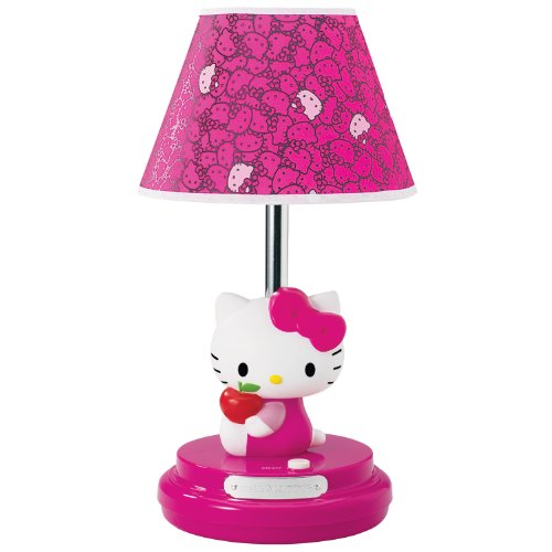 Hello Kitty KT3095AM Sitting Kitty Table Lamp