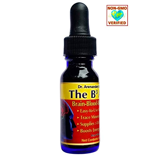 Trace Minerals - Fulvic Minerals - Alkaline Drops - Add to Water - Help ALKALIZE, Balance pH - Organic Fulvic, Humic Acid Concentrate - The B3 (Brain-Blood-Body) Alkalizer - 2-6 Month Supply