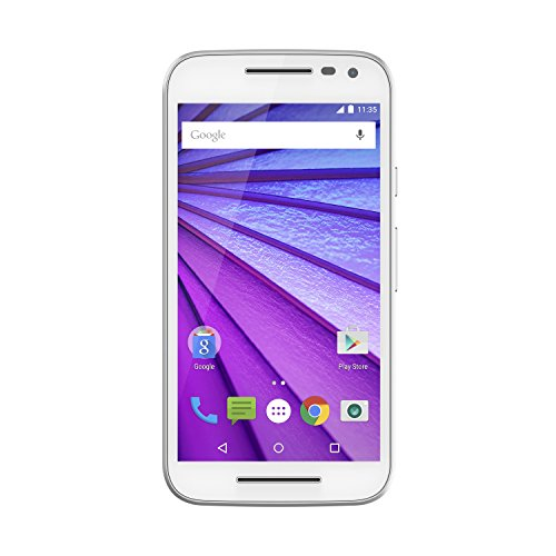 Motorola Moto G  - White- 8 GB - Global GSM Unlocked Phone