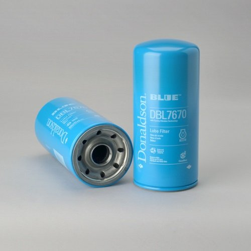 DBL7670 LUBE FILTER, SPIN-ON FULL FLOW DONALDSON BLUE (PACK OF 3) by Donaldson