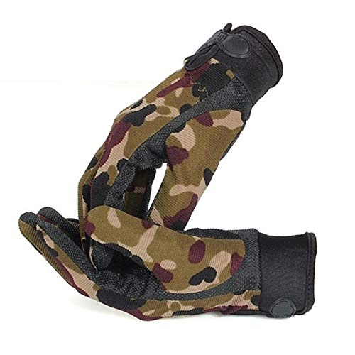 Full Finger Sports Gloves Men Outdoor Sports Mittens Camouflage Shooting Hunting Gloves