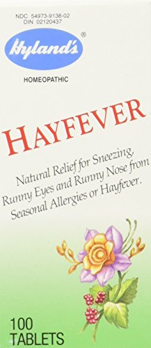 Hyland's Homeopathic - Hayfever - 100 tablets -
