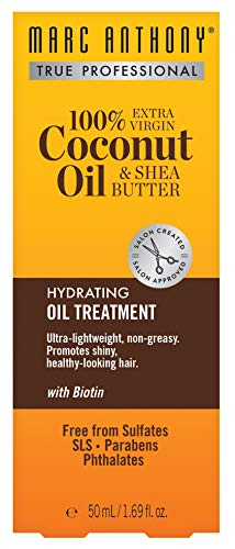 Butter Shea Hair Oil (Marc Anthony Coconut Oil & Shea Butter Treatment 1.69 Ounce (50ml))