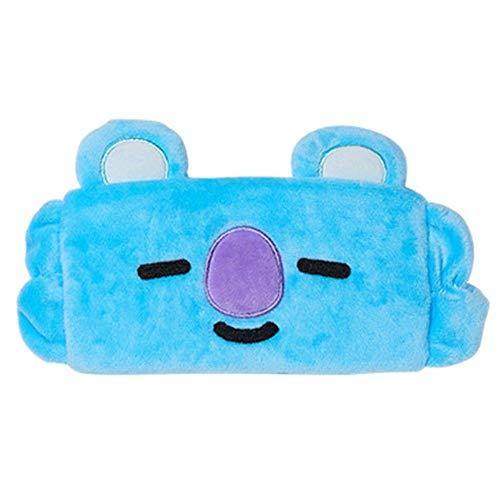 Kpop Star BTS Cartton Headband Cute Animal Hair Band Elastic Headgear Eye Mask (koya)
