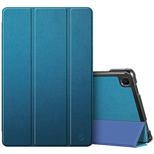 Fintie Slim Case for Samsung Galaxy Tab A7 10.4'' 2020 Model (SM-T500/T505/T507), Ultra Lightweight Tri-Fold Stand Protective Cover with Auto Wake/Sleep, Teal