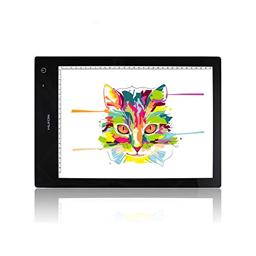 (Huion LB4 Wireless Battery Powered Artists Tracing Light Box - 12.6x9 inch)