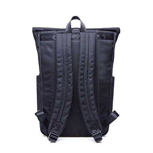 KAUKKO Casual Daypacks&multipurpose backpacks,Outdoor Backpack,Travel Casual Rucksack,Laptop Backpack Fits 15'' (04black) by KAUKKO (Image #4)