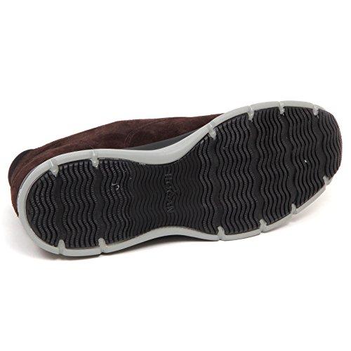 Hogan E5014 Sneaker Uomo Brown T20.15 New Urban Style Scarpe Suede Shoe Man Marrone scuro El Mayor Proveedor Precio Barato i3OqIO
