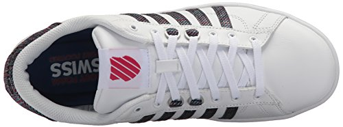 K-swiss Womens Hoke Cmf Sneaker Bianco / Multi / Vino Lampone