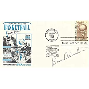 Dave DeBusschere Signed Autograph 1961 First Day Issue Cachet Knicks JSA AA84553