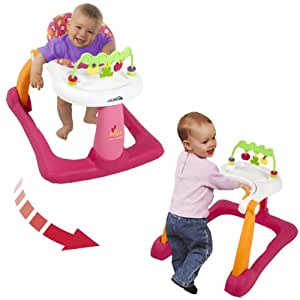 Kolcraft Tiny Steps 2-in-1 Activity Walker, Applelicious (Discontinued by Manufacturer)